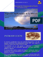 Aspectos Ambientales en Un Proyecto Minero