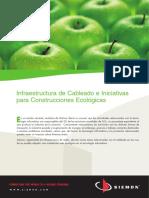 Infraestructuras de Cableados e Iniciativas Para Construcciones Ecológicas