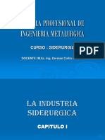 CAP. I Industria Siderurgica-2016