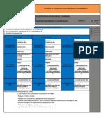 Criterios de Evaluacion Semestre Agosto- Dic. 2016