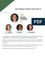 17-01-17 Evaluación de Gobernadores_ Márquez, Pavlovich y Moreno Valle, En Los Primeros Lugares -SDPNOTICIAS