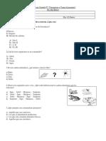 Evaluación Unidad Nº2