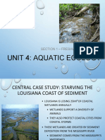 unit 4 section 1 - freshwater systems  1