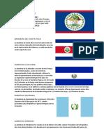 Bandera de Centroamerica