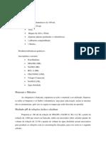 Materiais e Métodos Prática 5