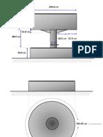Dimension Estructura Central Daf Circular
