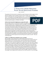 Executive Order Resource Allocation Plan Analysis