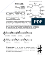 Armaduras Musicales