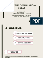 Algoritma Dan Bilangan Bulat