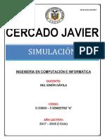 13.38. Características de Lenguajes de Simulación de Sistemas Discretos