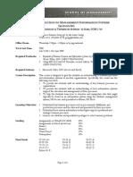 UT Dallas Syllabus for ba3351.003.10f taught by Xianjun Geng (xxg091000)
