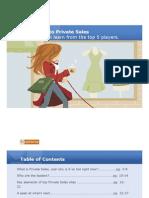 Optaros Secrets of Private Sales eBook