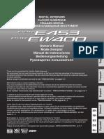Manual Psre453 Ew400