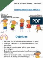 Mecanismos de Defensa Inmunologicos Del Pulmón_Dr. Alvarado