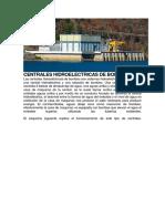 Centrales Hidroelectricas de Bombeo