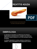 Patologia Quirurgica de Pancreas