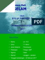 Case Report Tenggelam
