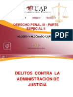 6 SEXTASEMANA.pdf DELITOS CONTRA LA ADMINISTRACION DE JUSTICIA.pdf