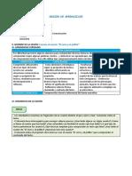 SESION DE COMUNICACION DE 2DO PRIMARIA