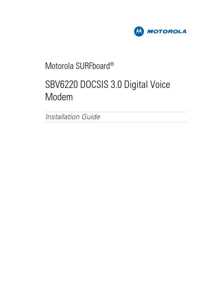 motorola sbv6220 3 0 modem. motorola sbv6220 3 0 modem