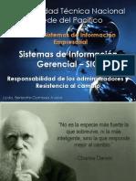 Sistema de Informacion Gerencial- Responsabilidad y Resist Al Cambio