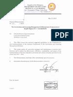 Regional Memorandum No.8 s.2015