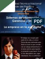 Sistema de Información Gerencial- Internet y Comercio Electrónico