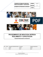 3. Procedimiento de Induccion y Capacitacion