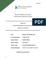 HBML 4103 SEJARAH PERKEMBANGAN BM (Autosaved) - Copy.docx