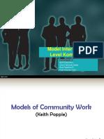 Model Intervensi Di Level Komunitas by KLP 3.ppt