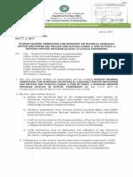 Division Memorandum No. 100, s. 2017