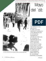 REGGIANI, Andrés (1998) - Mayo del 68 una nueva sensibilidad política
