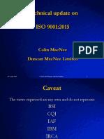 Collin MacNee ISO 9001 2015