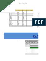 Gantt Chart Timeline Template in Excel