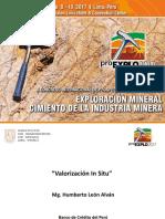 ProEXPLO 2017 - Valorización in Situ