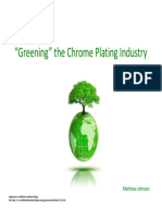 Chrome Plating Info
