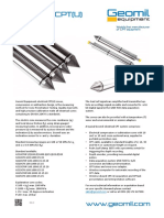 Geomil Electrical CPT(U) Leaflet