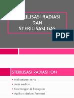 Sterilisasi Radiasi & Gas-1