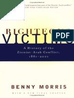 Righteous Victims [Pt 1] - Benny Morris [2001]