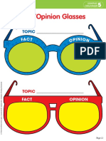Fact Opinion Glasses