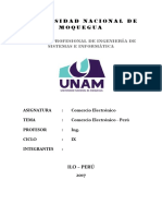 Comercio Electronico en El Peru