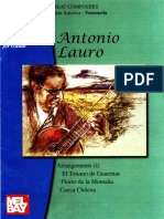 Antonio Lauro Complete Works Vol 10 Arr Alirio Diaz