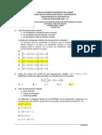 1S-2016 Matematicas PrimeraEvaluacion08H30aVersionUno