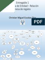 Diagrama Entidad-relacion Mesa de Regalos