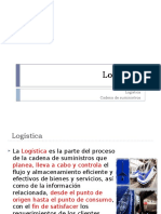 1 Logística y Cadena de Suministro 2015