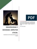 Discapacidad y Sociedad (Aspectos Éticos)