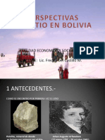 Litio en Bolivia