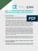 ABC de La Salud Bucal - Minprotección Social