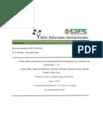 Artículo 8.1 Responsabilidad Social Empresarial. Guido Crespo