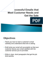 Send Successful Emails